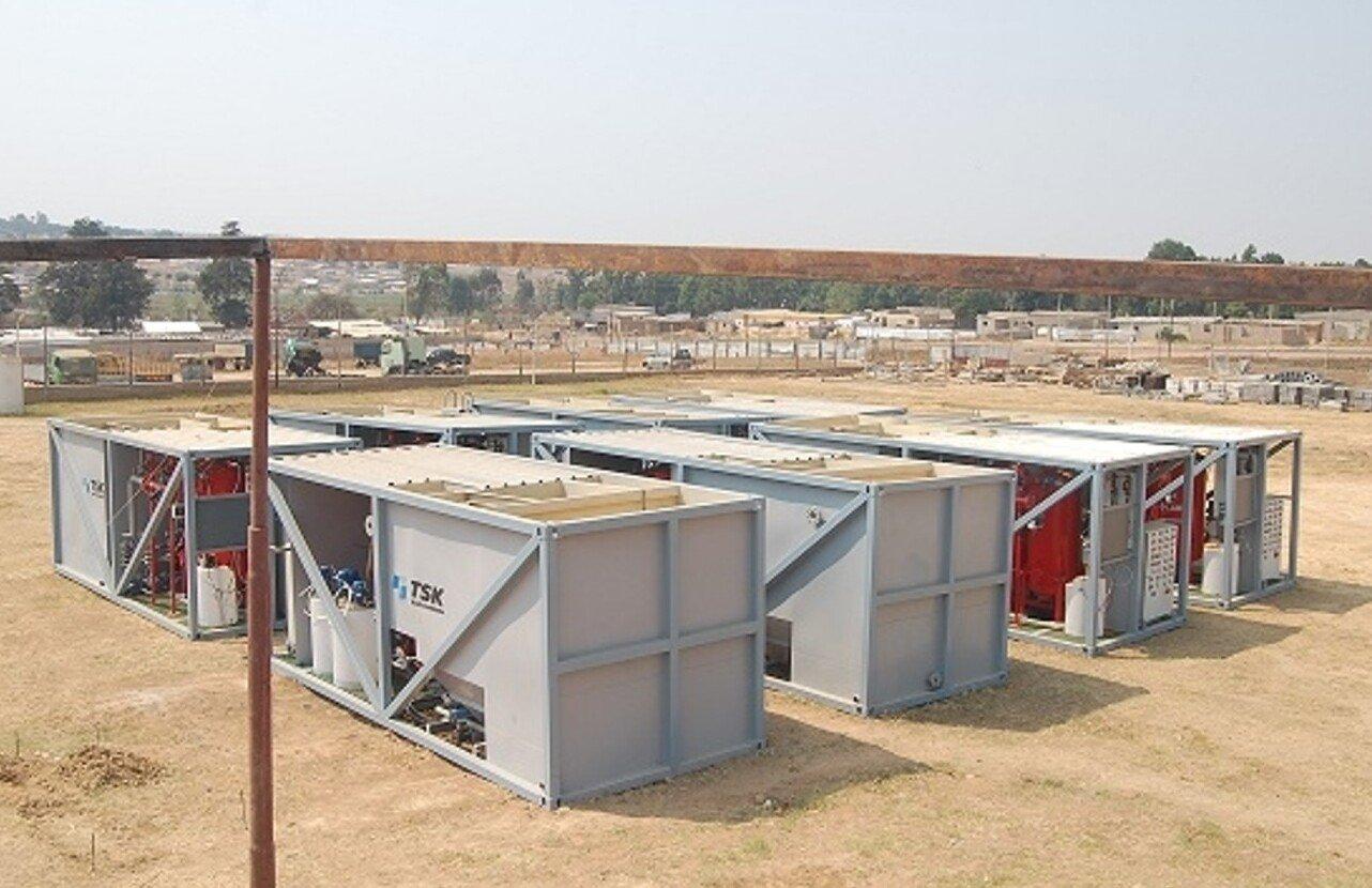 Estación potabilizadora con alimentación fotovoltaica Provincia de Zaire